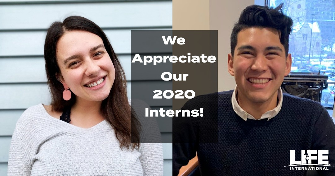 Two Dedicated Interns and the Future of the Life Movement